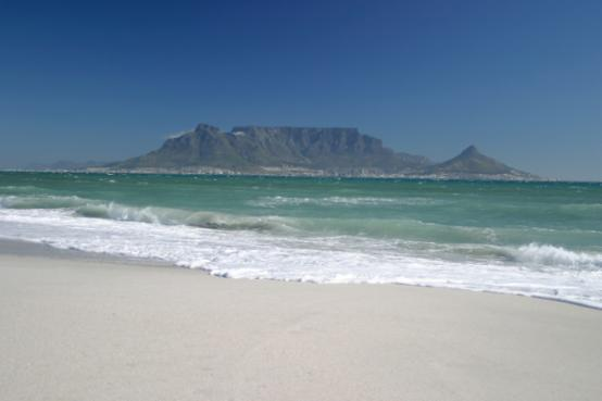 Het zuiden van Zuid Afrika