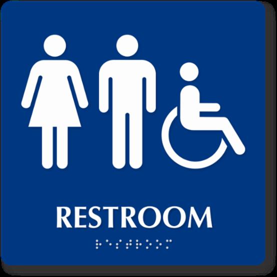Bathroom-Main Concession Unisex/Handicap Accessible